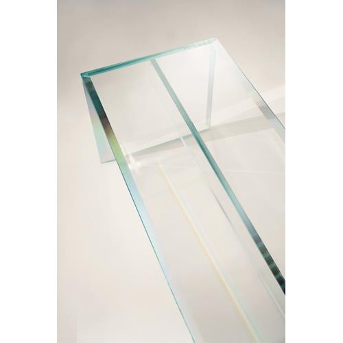 PRISM GLASS CHAIR / PRISM GLASS SOFA / PRISM GLASS BENCH